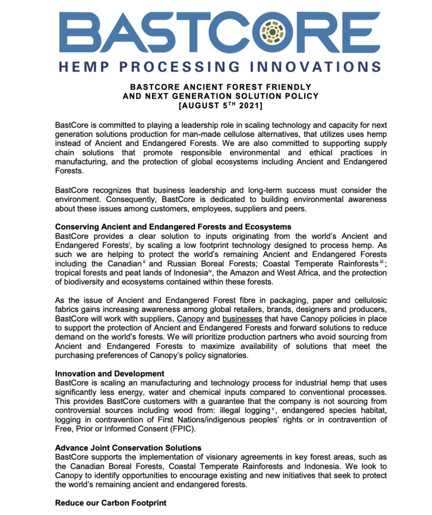 BastCore Canopy Next Gen Solution Provider Policy pg1_sheet